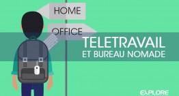 Le télétravail ou l'invention du bureau nomade