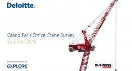 Grand Paris Office Crane Survey Summer 2016 : concentration de la production sur Paris